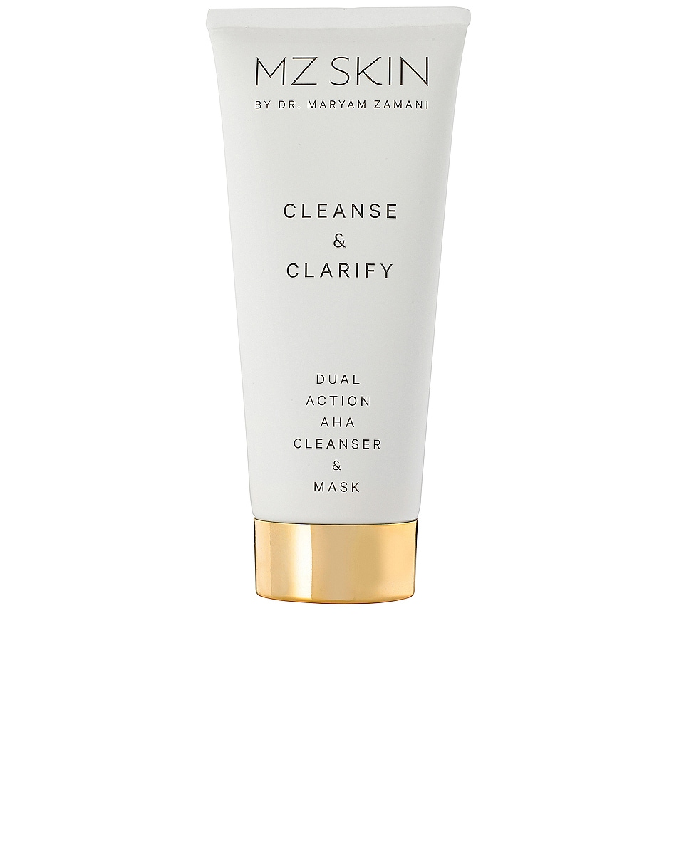 Image 1 of MZ Skin Cleanse & Clarify Dual Action AHA Cleanser & Mask in