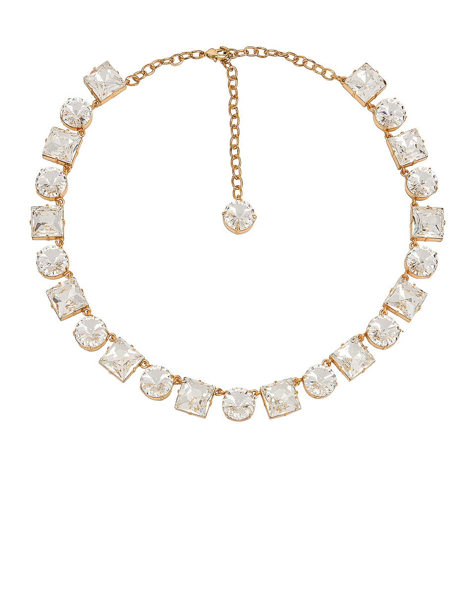 Image 1 of Ninon Anna Crystal Necklace in Diamond