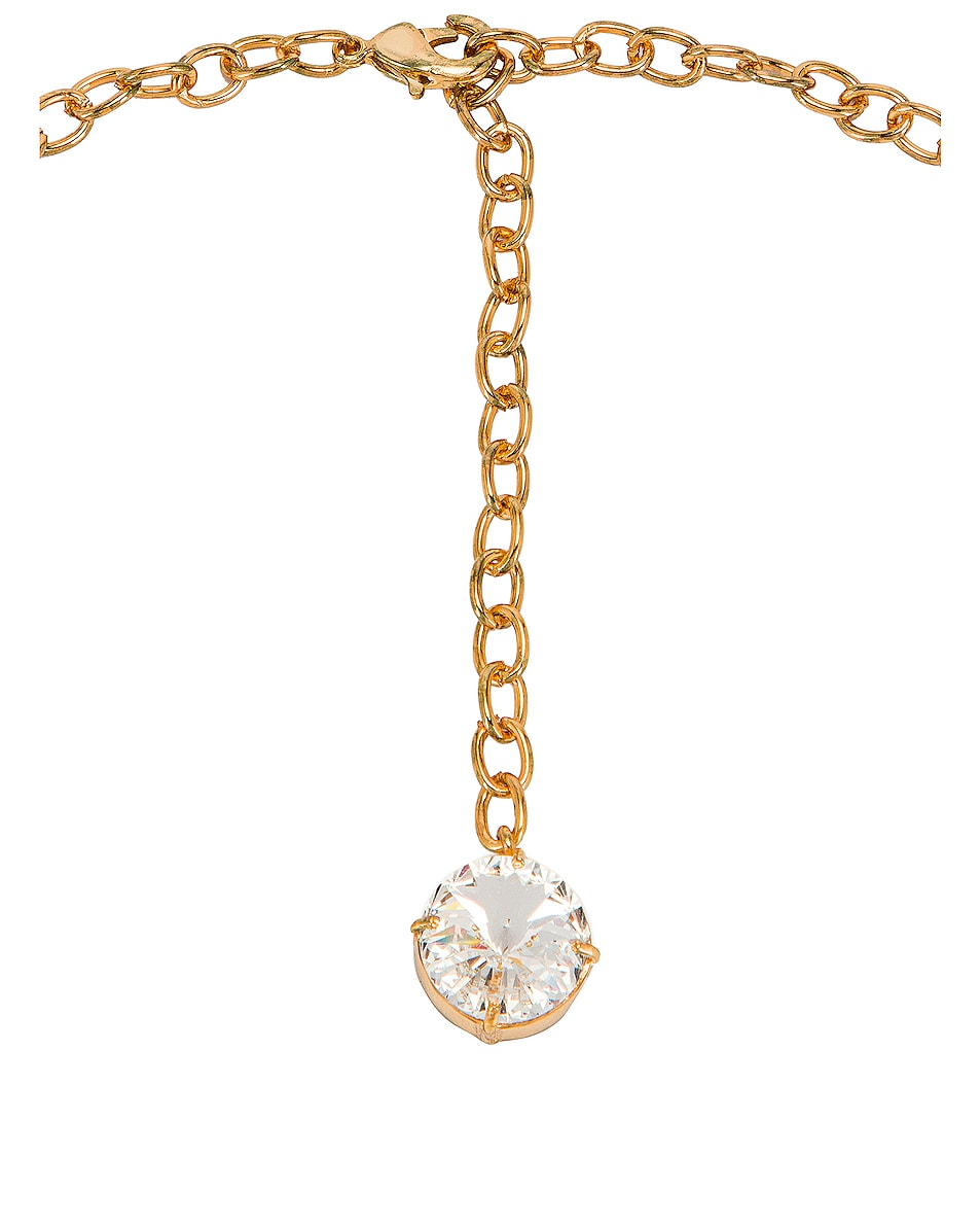 Image 4 of Ninon Anna Crystal Necklace in Diamond
