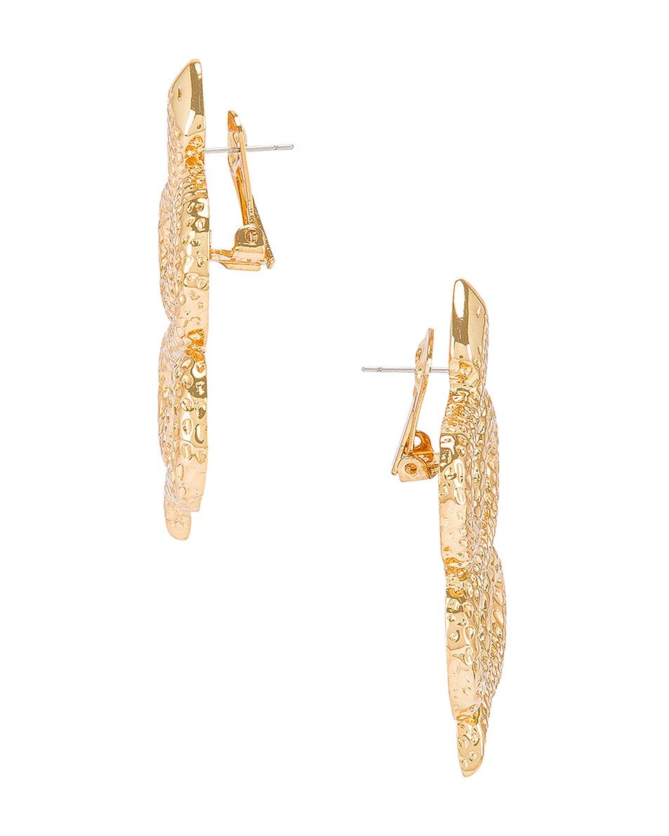 Image 3 of Ninon Serpent of Eden Earrings in Gold