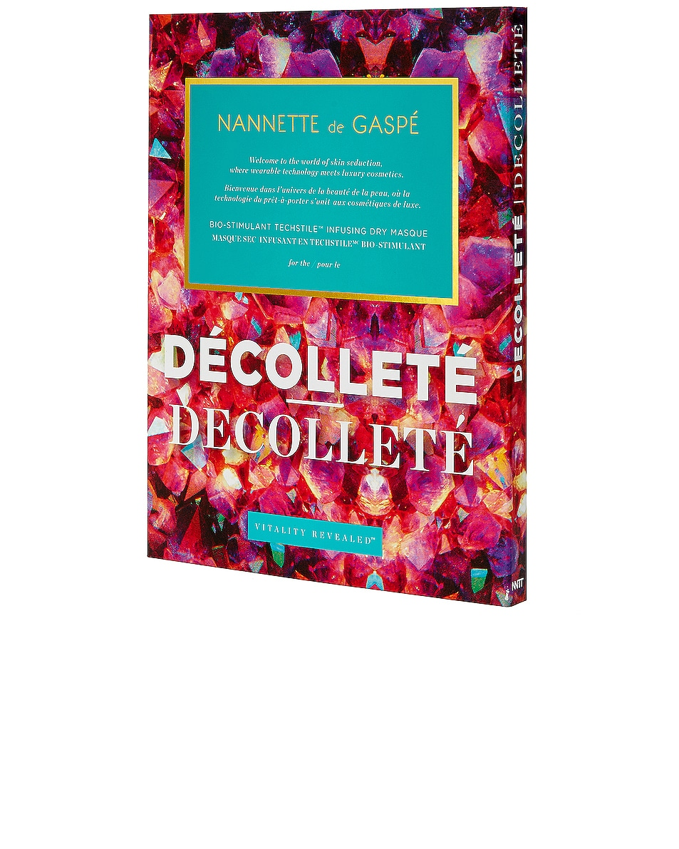 Image 1 of NANNETTE de GASPE Vitality Revealed Decollete in