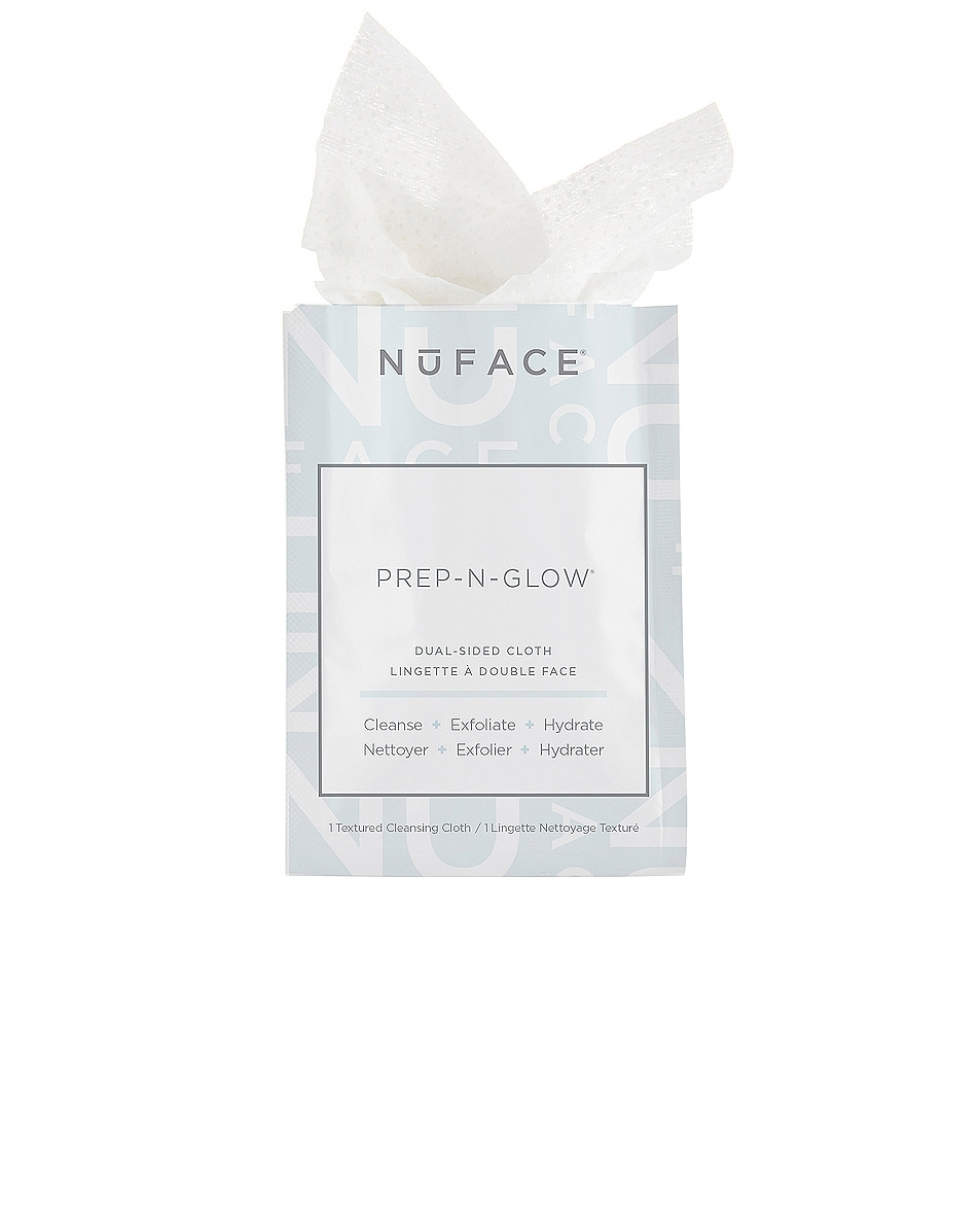 Image 1 of NuFACE Prep-N-Glow Cleansing Cloths 20 Pack in