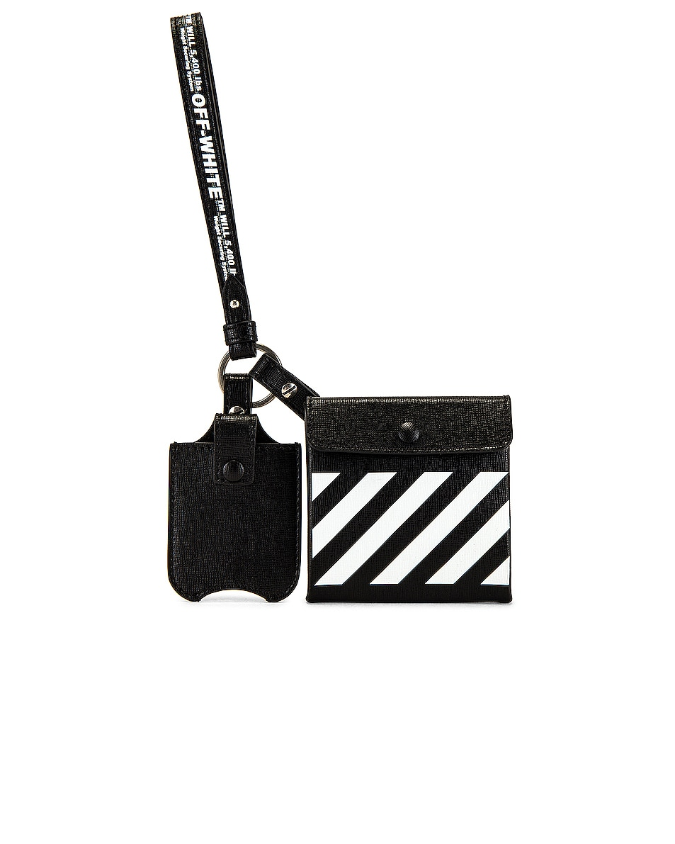 Image 1 of OFF-WHITE Leather Safety Kit in Black