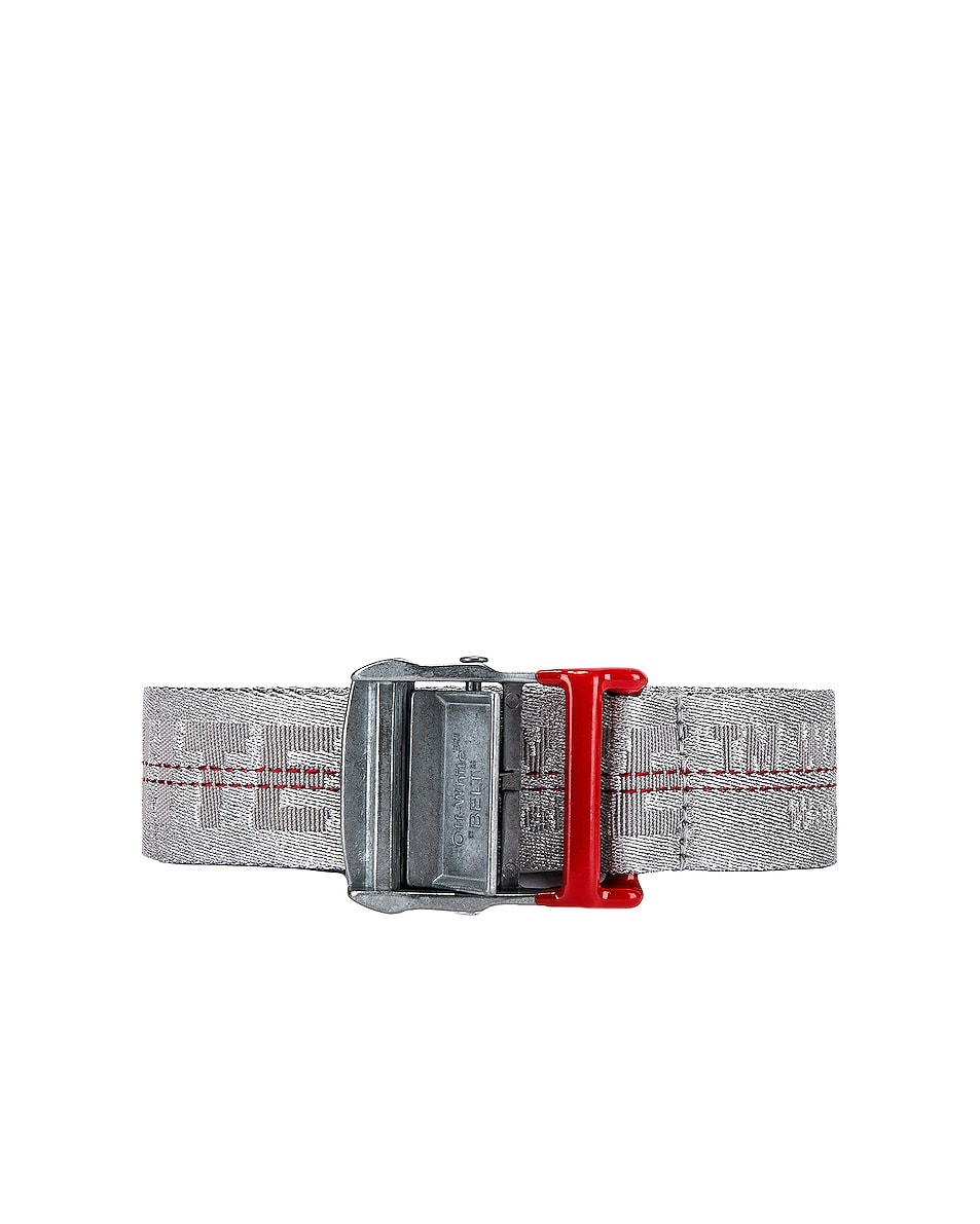 Image 1 of OFF-WHITE Industrial Belt in Light Grey