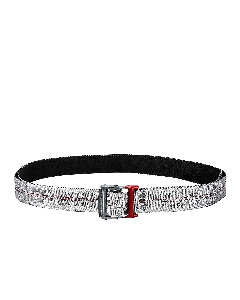 Image 2 of OFF-WHITE Industrial Belt in Light Grey