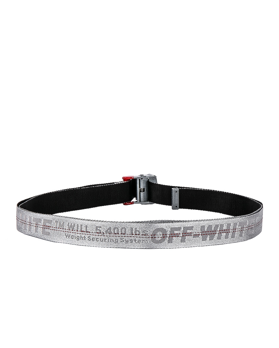 Image 3 of OFF-WHITE Industrial Belt in Light Grey