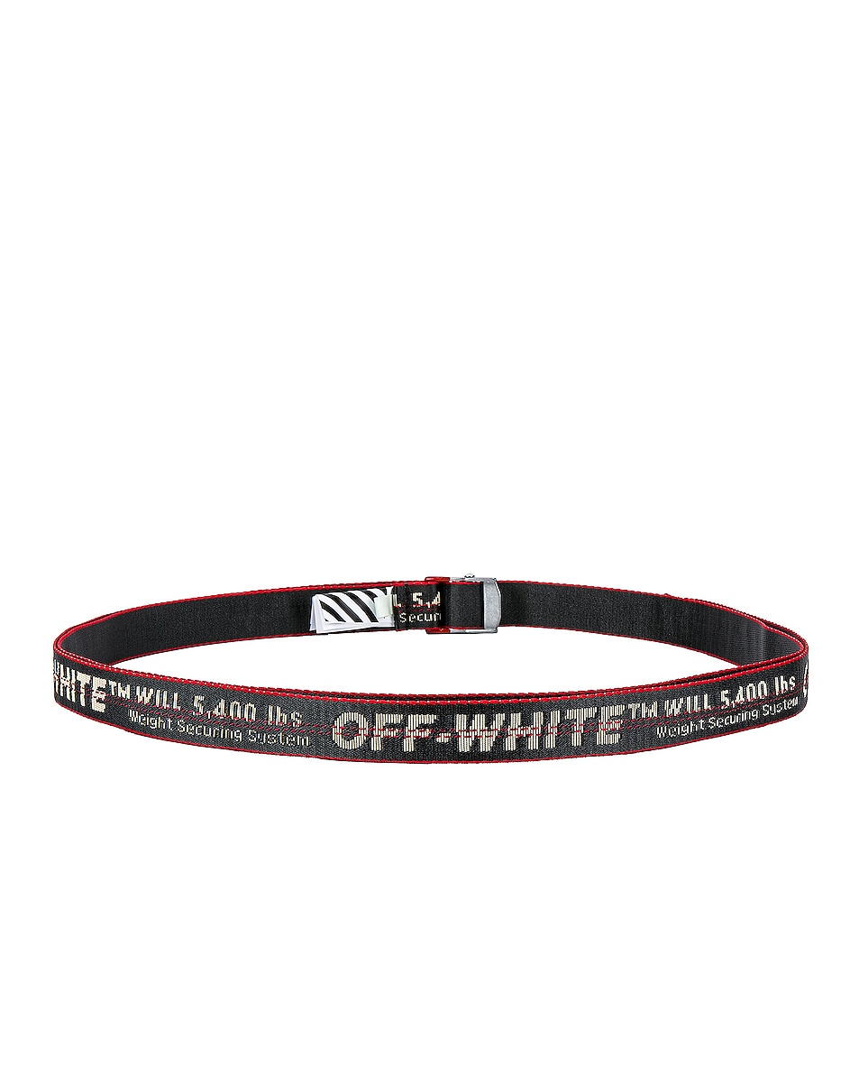 Image 3 of OFF-WHITE Mini Industrial Belt in Anthracite
