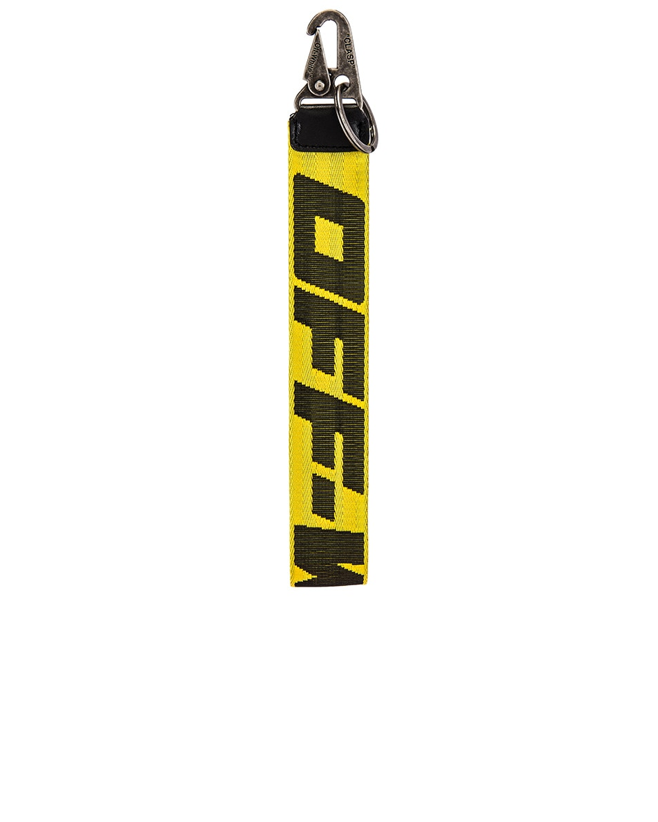 Image 1 of OFF-WHITE 2.0 Industrial Key Holder in Yellow & Black