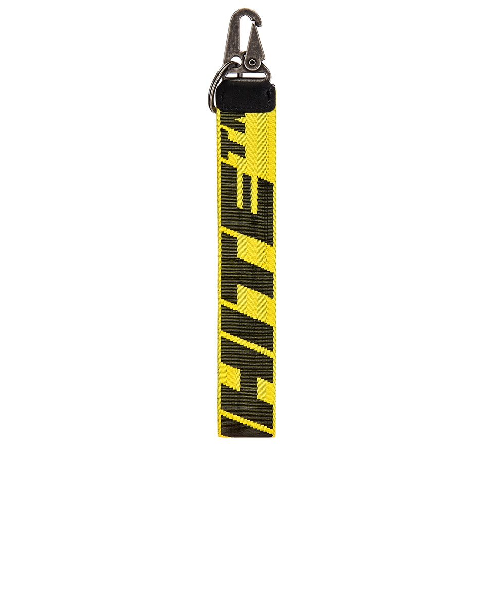Image 2 of OFF-WHITE 2.0 Industrial Key Holder in Yellow & Black