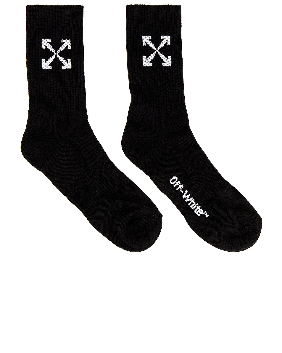 Image 1 of OFF-WHITE Arrow Mid Sport in Black & White