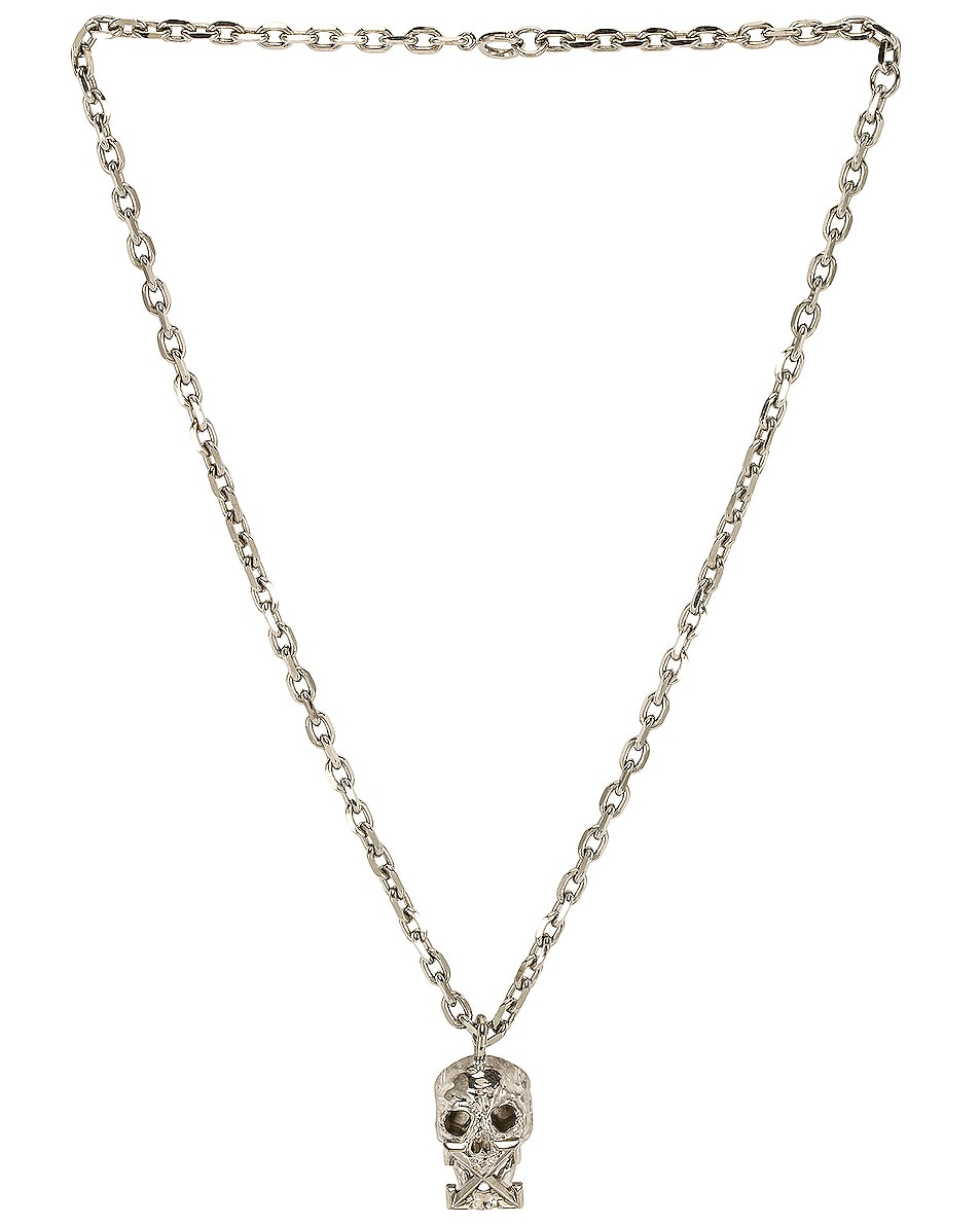 Image 1 of OFF-WHITE Punk Necklace in Metal