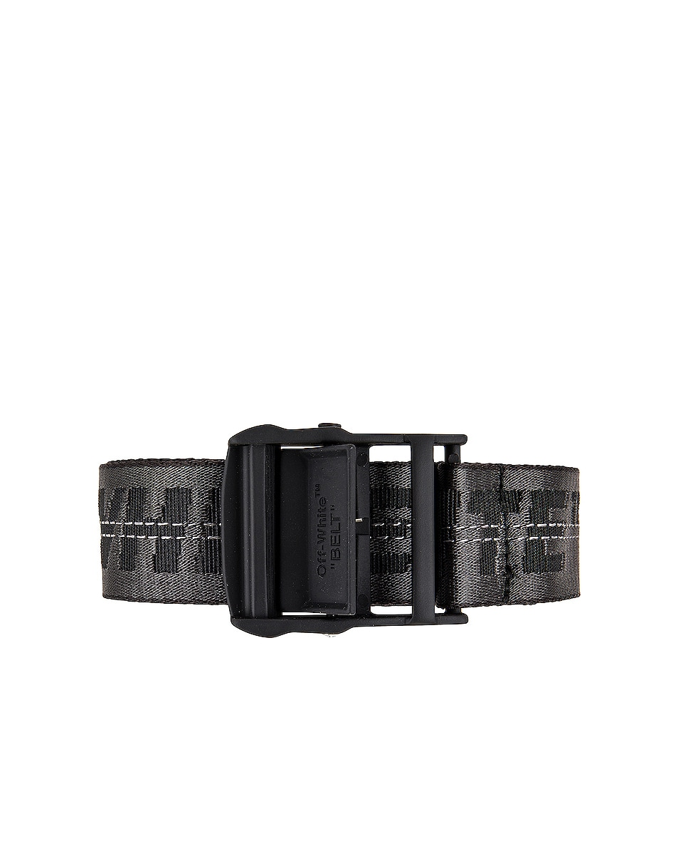 Image 1 of OFF-WHITE Classic Industrial Belt in Black & Black