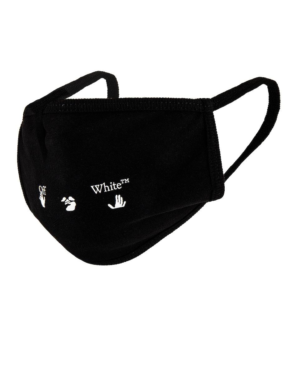 Image 1 of OFF-WHITE Logo Mask in Black
