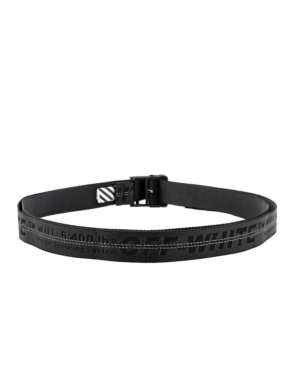 Image 3 of OFF-WHITE Industrial Belt in Black