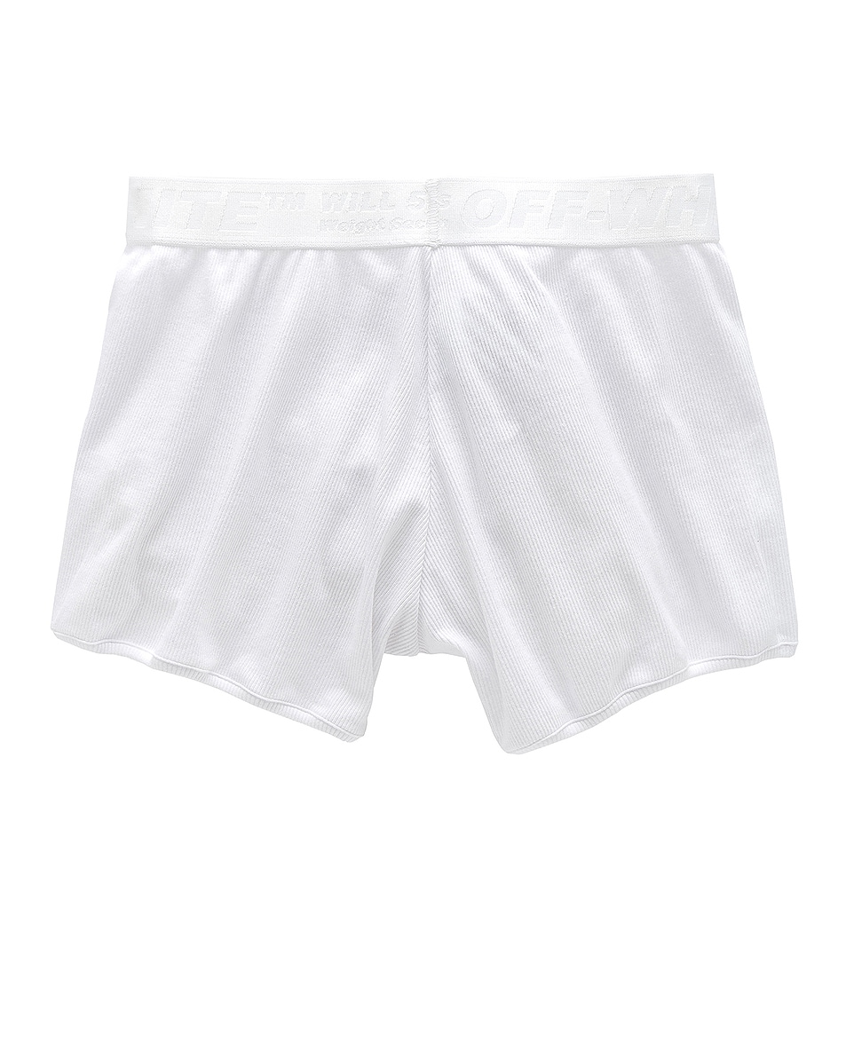 Image 2 of OFF-WHITE Boxer Shorts 3-Pack in White