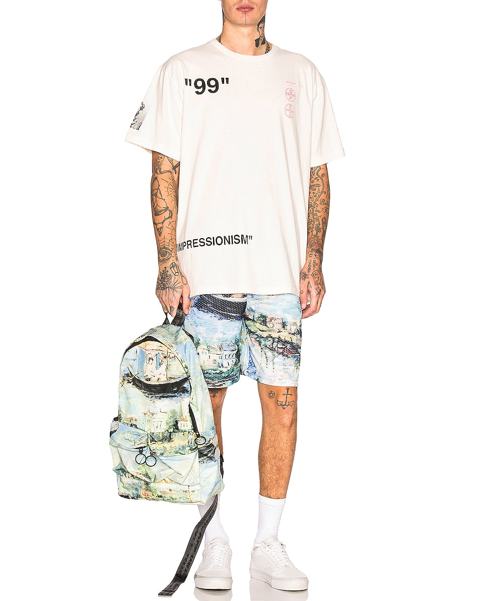 Image 2 of OFF-WHITE Lake Backpack in All Over Multi