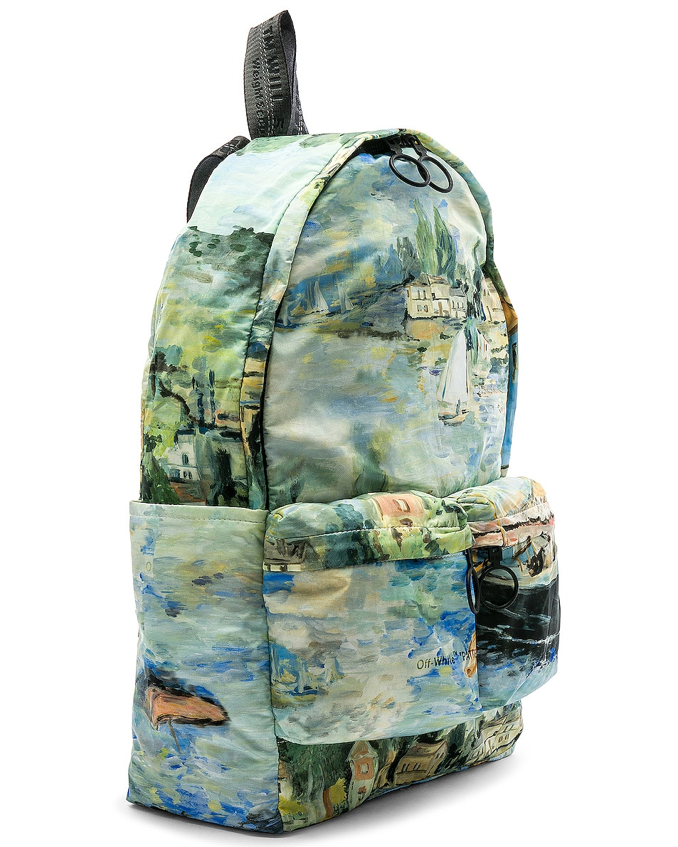 Image 4 of OFF-WHITE Lake Backpack in All Over Multi
