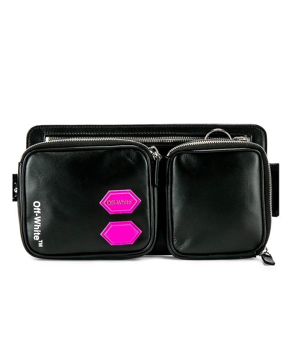 Image 1 of OFF-WHITE EXCLUSIVE Hip Bag in Black