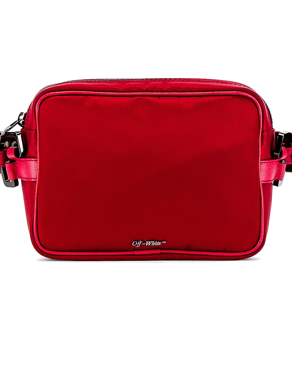 Image 1 of OFF-WHITE Crossbody Bag in Red