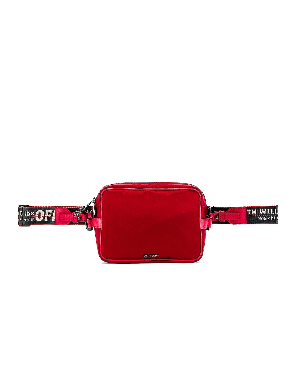 Image 2 of OFF-WHITE Crossbody Bag in Red