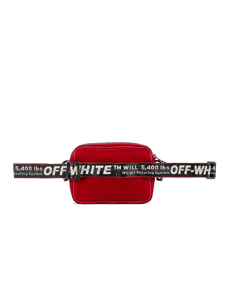 Image 3 of OFF-WHITE Crossbody Bag in Red