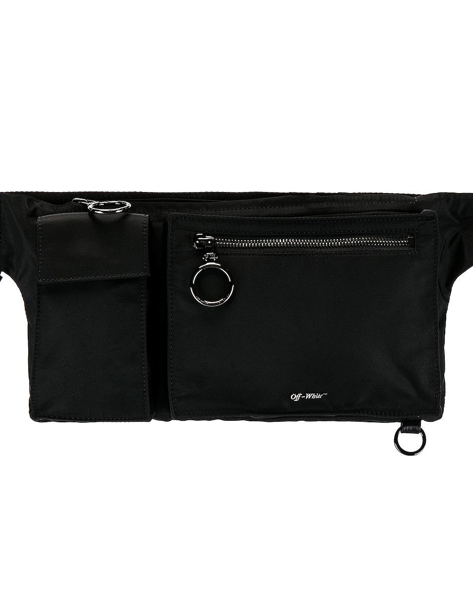 Image 1 of OFF-WHITE Pockets Fannypack in Black