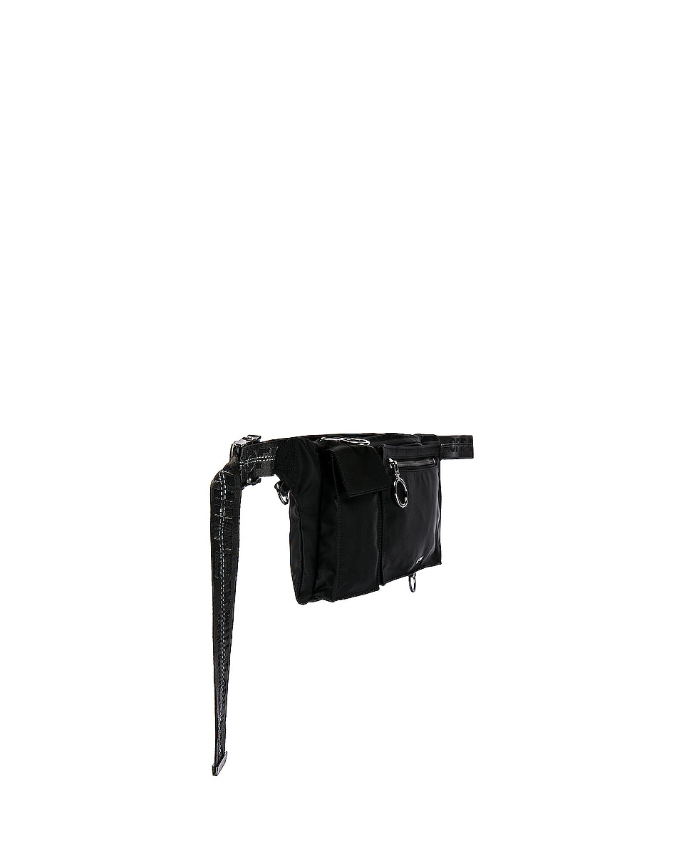 Image 3 of OFF-WHITE Pockets Fannypack in Black