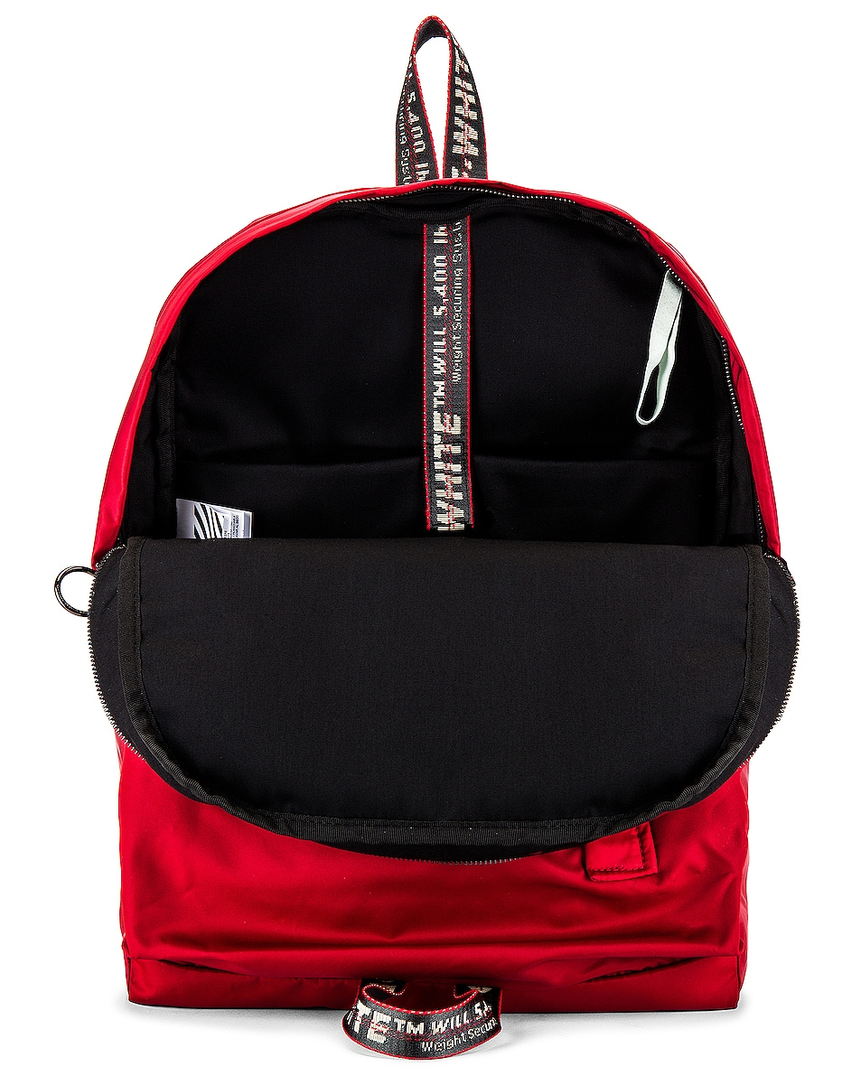 Image 4 of OFF-WHITE Easy Backpack in Red & Black