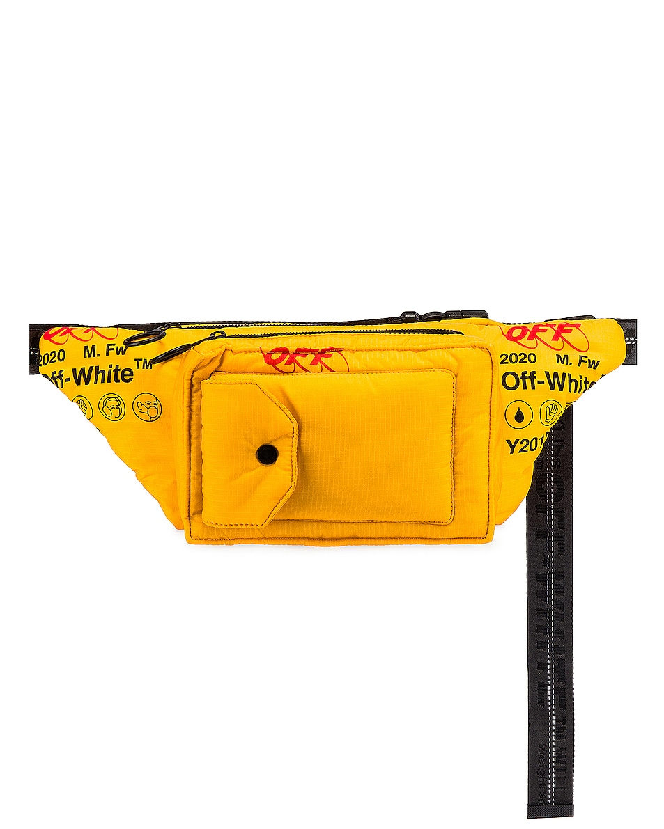 Image 1 of OFF-WHITE Industrial Fanny Pack in Yellow