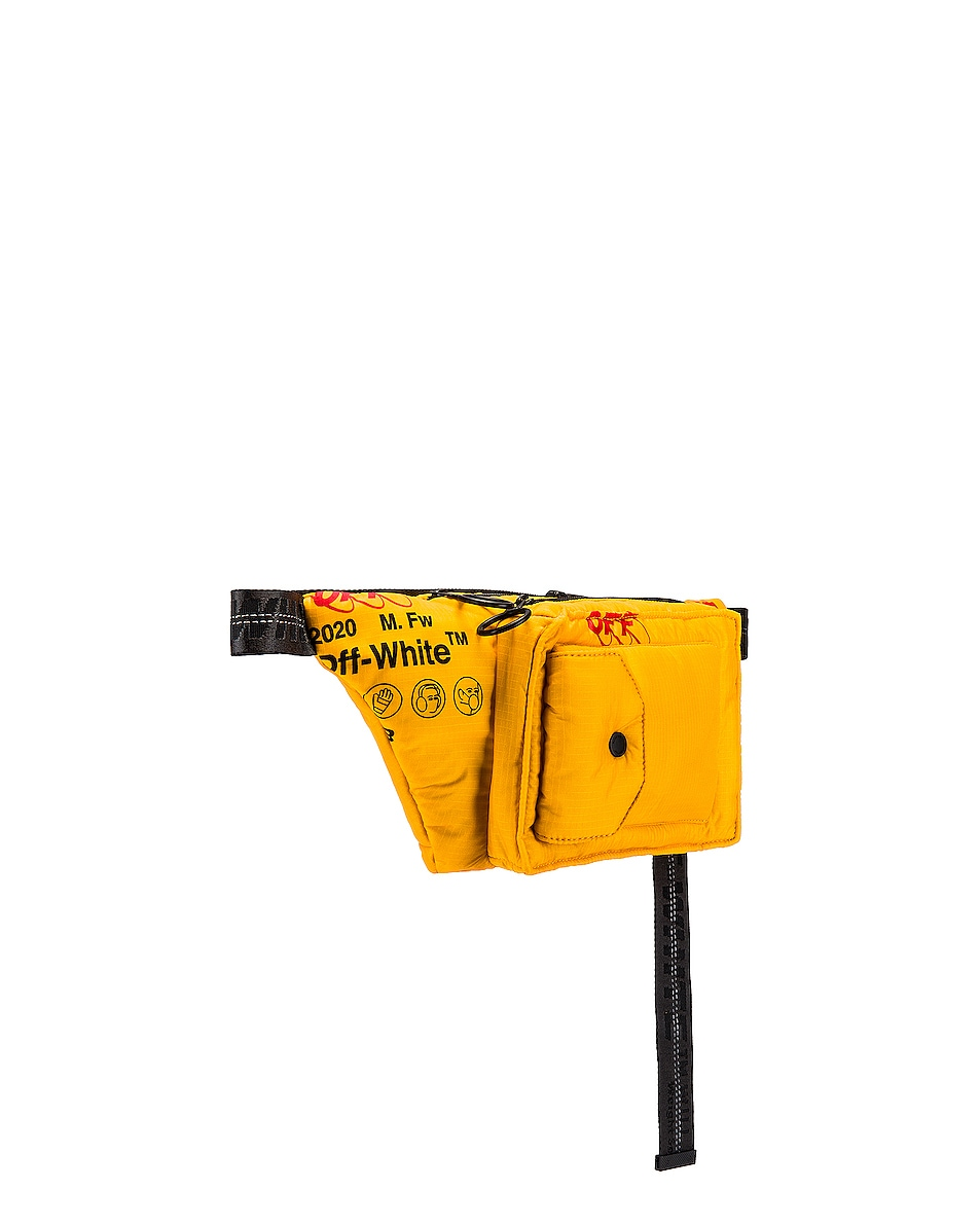 Image 3 of OFF-WHITE Industrial Fanny Pack in Yellow
