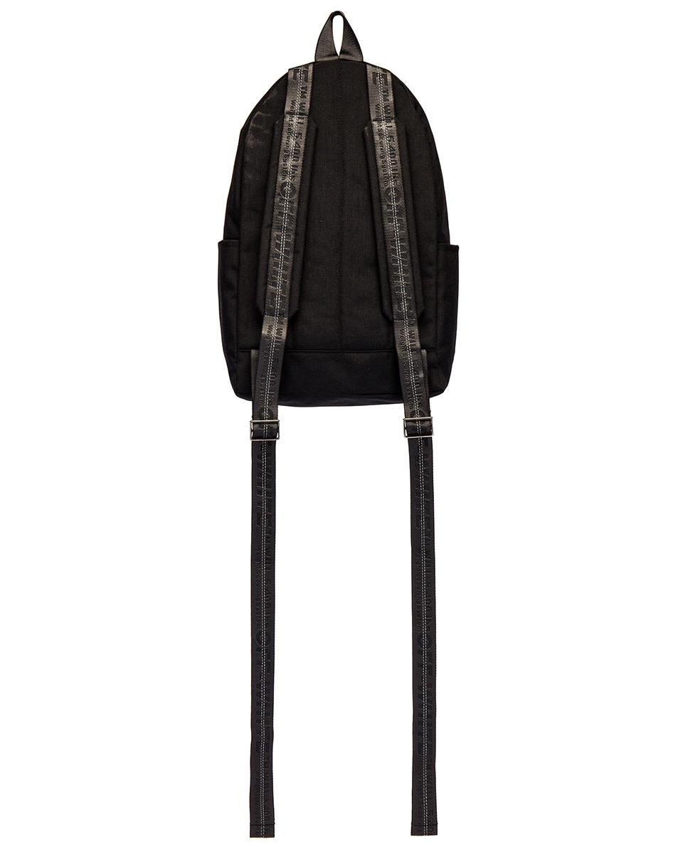 Image 2 of OFF-WHITE Abstract Arrows Backpack in Black & White