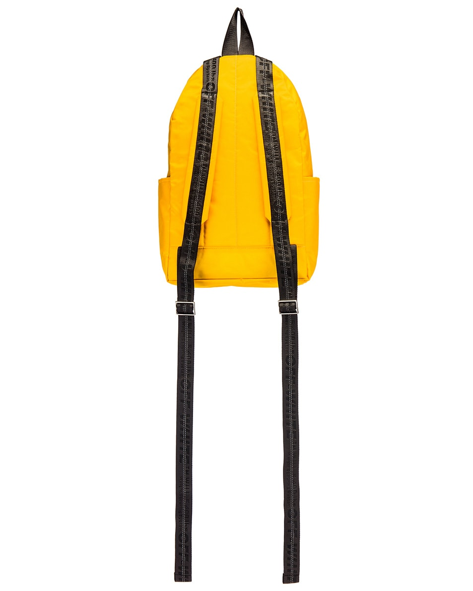 Image 2 of OFF-WHITE Industrial Y013 Backpack in Yellow & Red