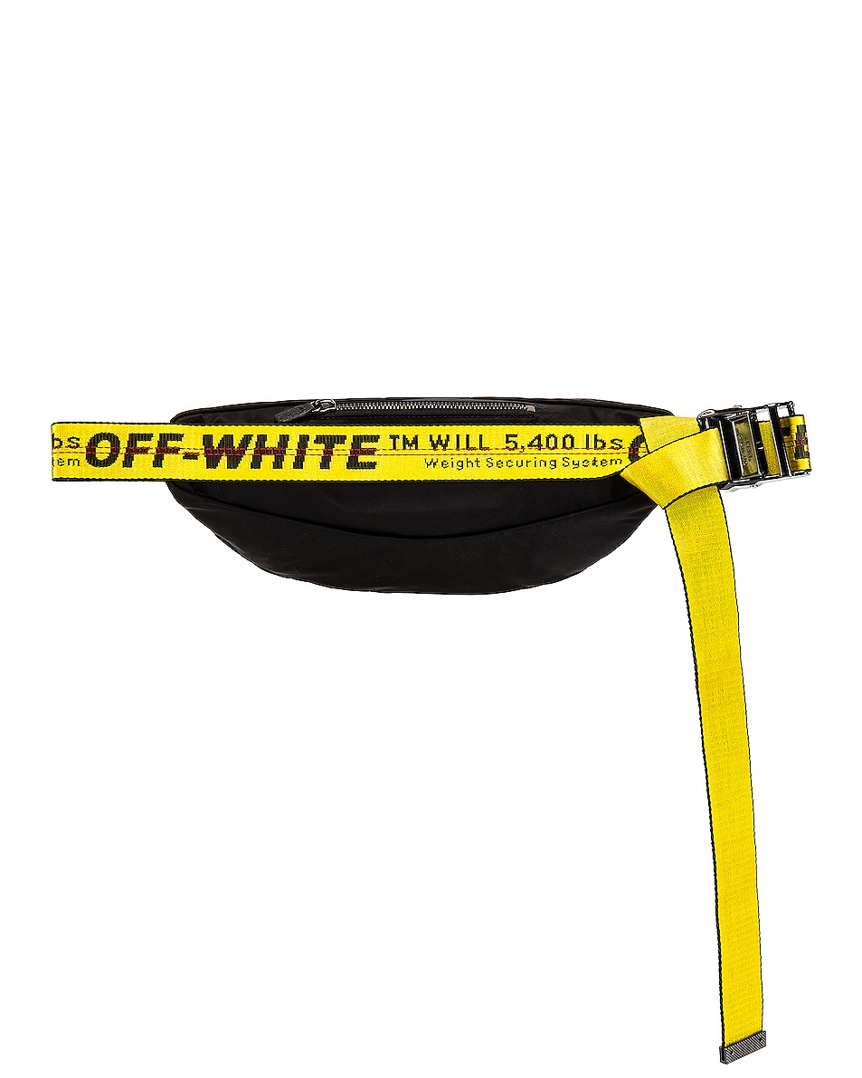 Image 2 of OFF-WHITE Basic Fannypack in Black