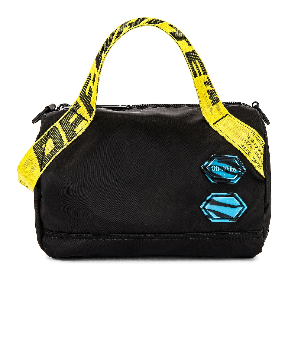 Image 1 of OFF-WHITE Nylon Baby Duffle Bag in Black