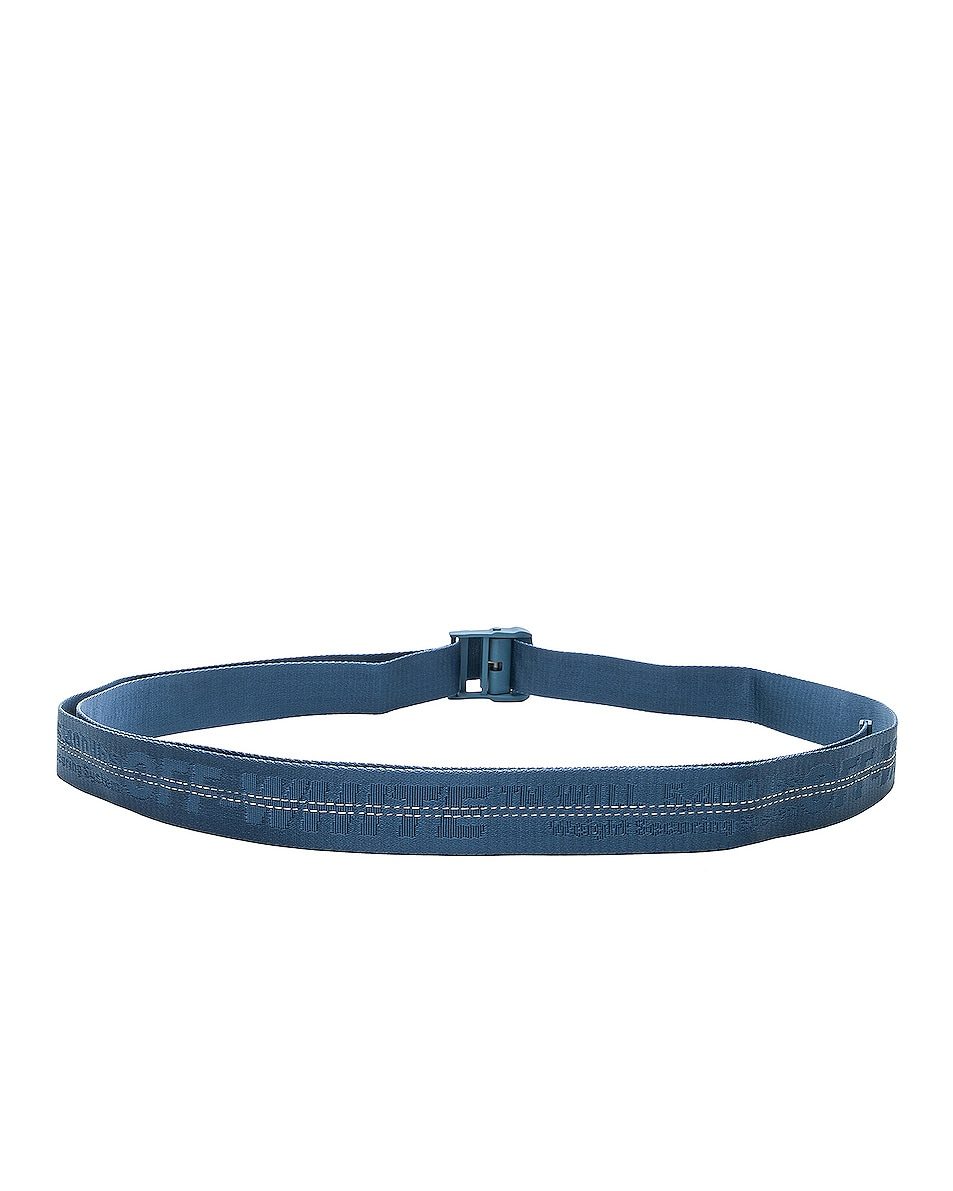 Image 2 of OFF-WHITE Classic Industrial Belt in Light Blue