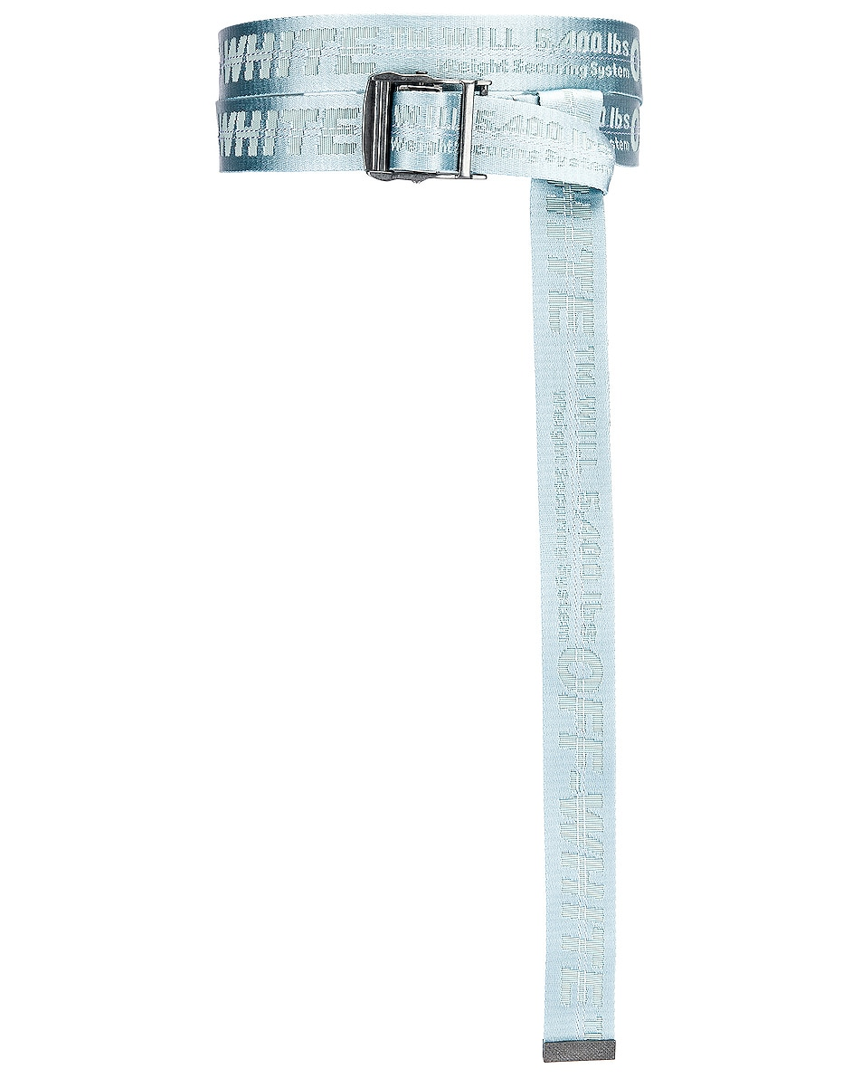Image 4 of OFF-WHITE Classic Industrial Belt in Light Blue