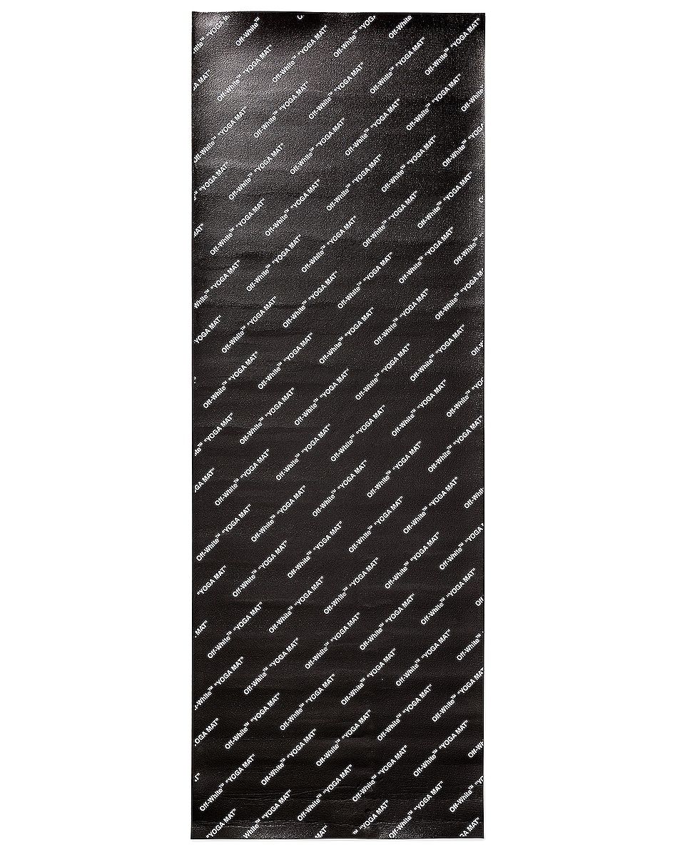 Image 3 of OFF-WHITE Yoga Mat in Black & White