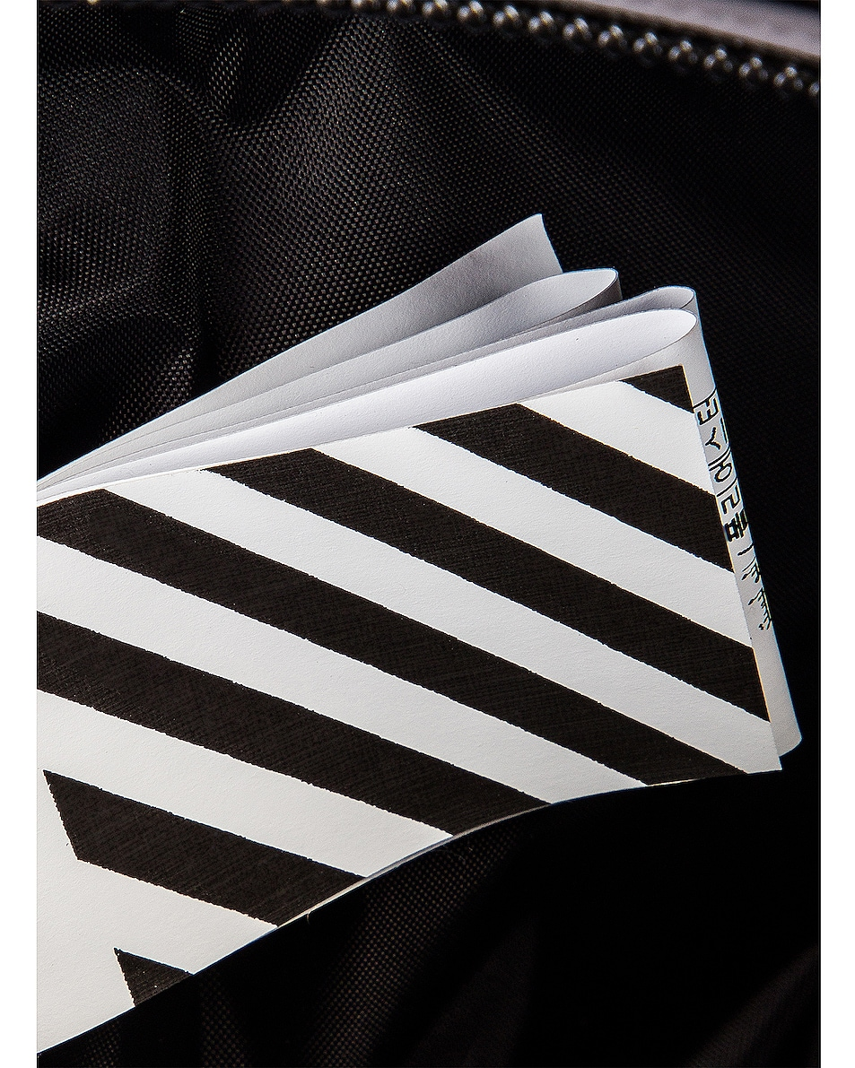 Image 5 of OFF-WHITE Make Up Pouch in Black & White
