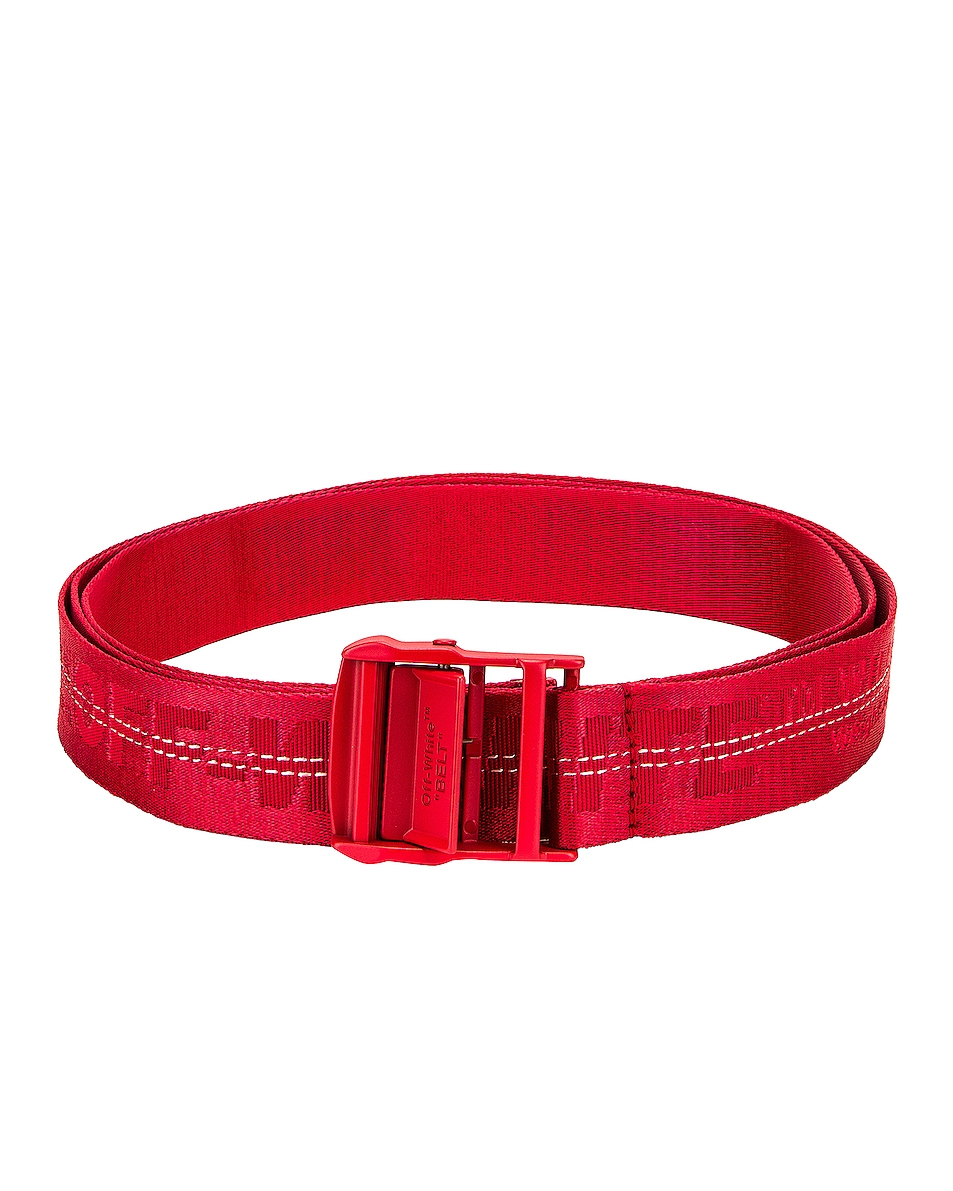 Image 1 of OFF-WHITE Classic Industrial Belt in Red