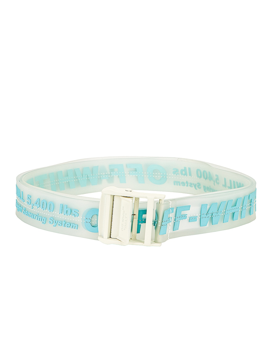 Image 1 of OFF-WHITE Rubber Industrial Belt in Transparent Light