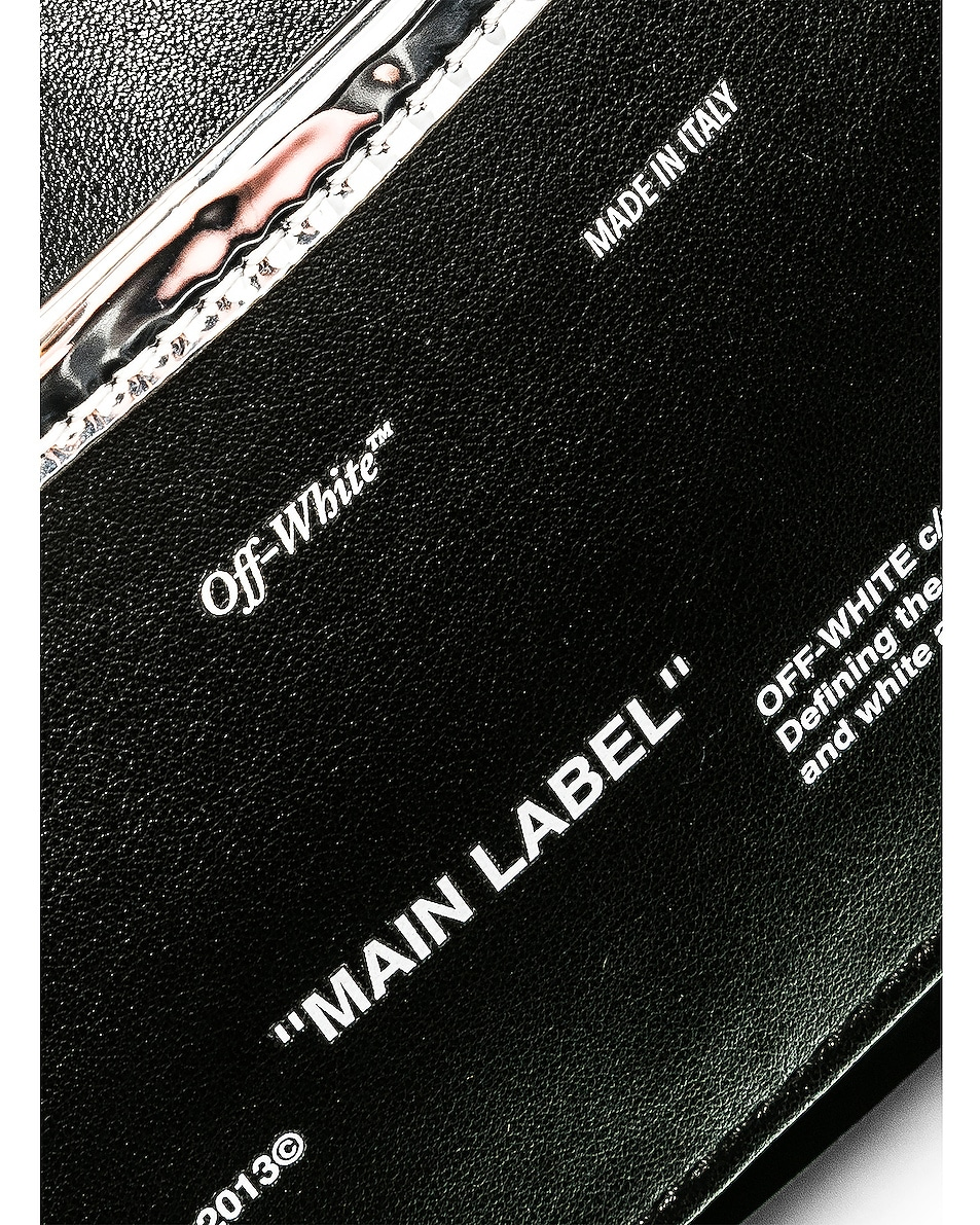 Image 7 of OFF-WHITE Mirror Camera Bag in Silver