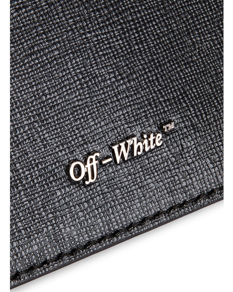 Image 7 of OFF-WHITE Diagonal Flap Bag in Black & White