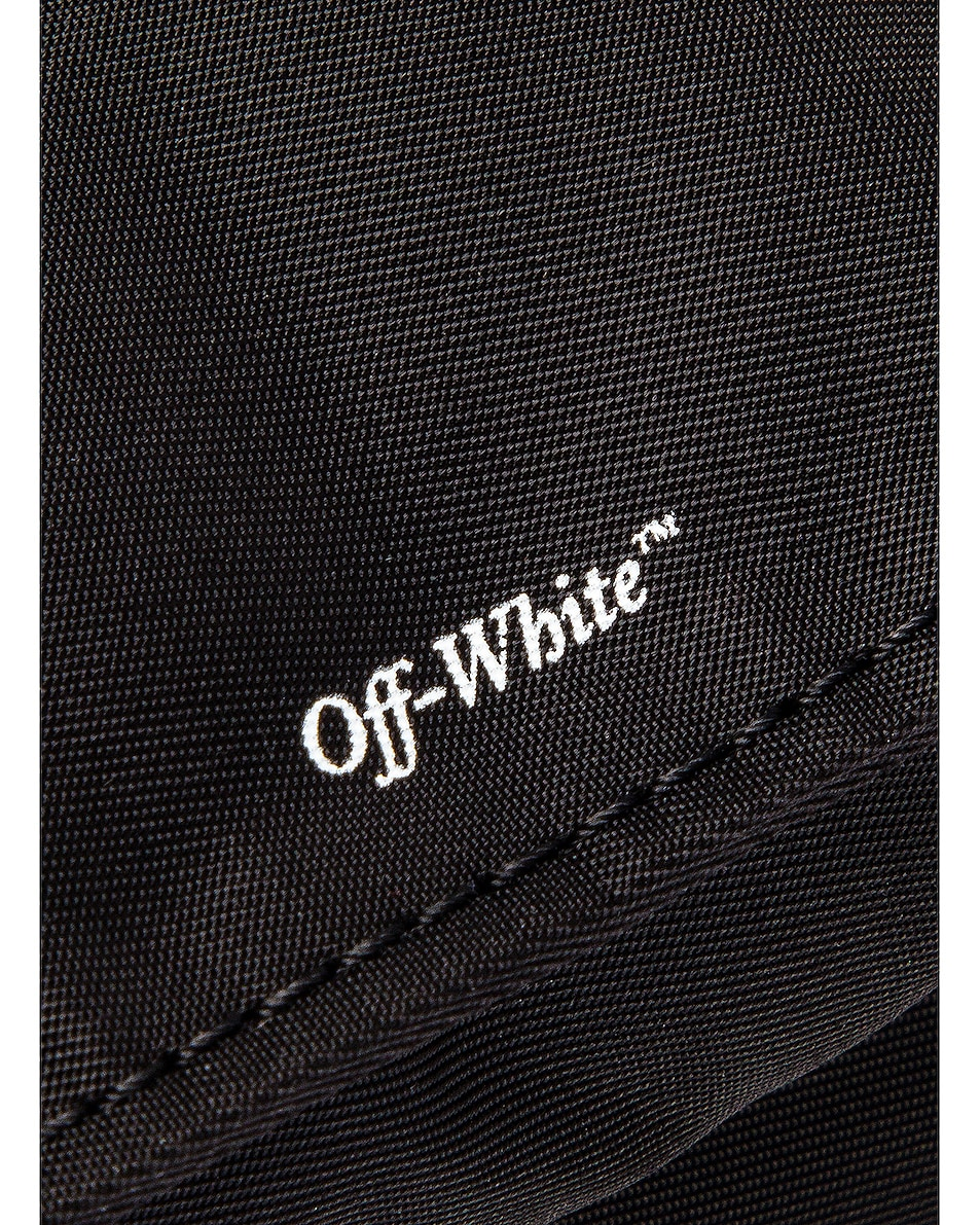 Image 7 of OFF-WHITE Zipped Flap Bag in Black