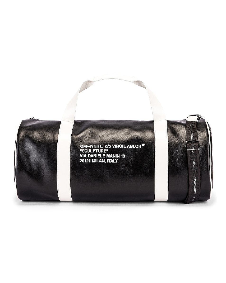 Image 1 of OFF-WHITE Duffle Bag in Black & White