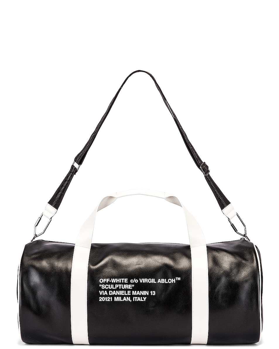Image 5 of OFF-WHITE Duffle Bag in Black & White