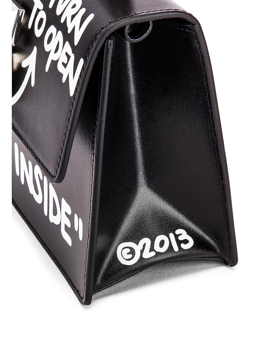 Image 7 of OFF-WHITE Jitney 1.4 Cash Inside Bag in Black & White