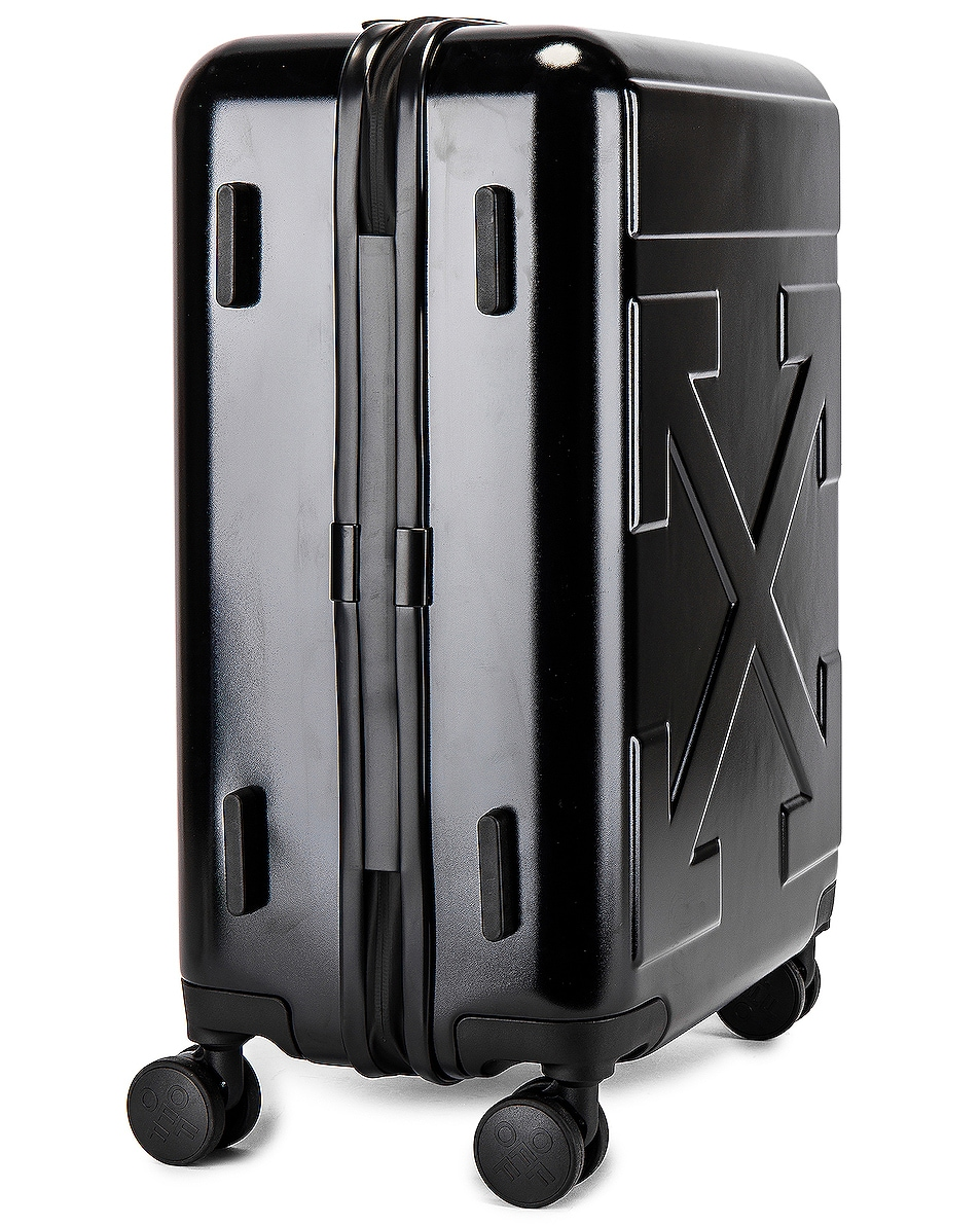 Image 3 of OFF-WHITE Arrow Trolley Luggage in Black