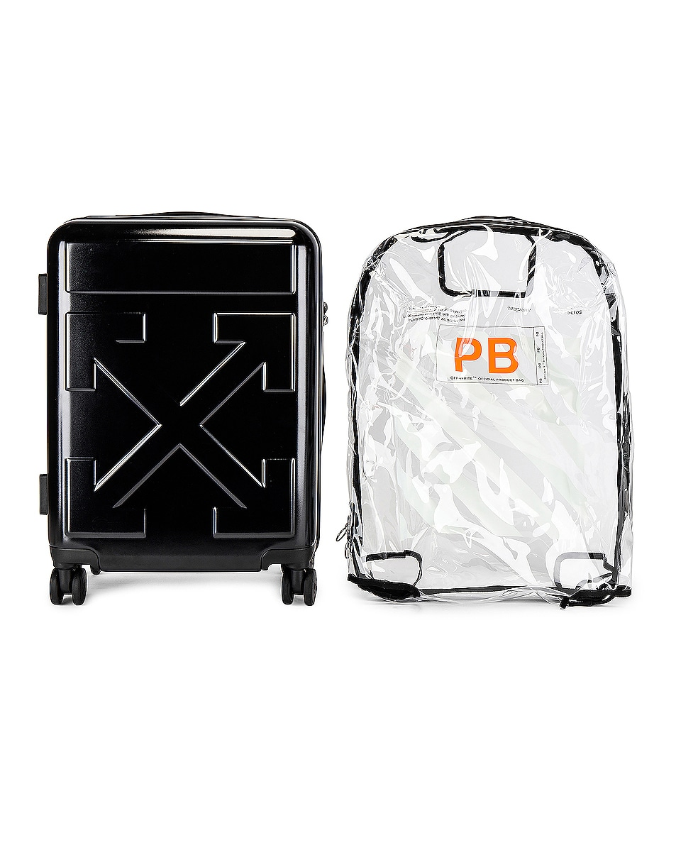 Image 4 of OFF-WHITE Arrow Trolley Luggage in Black