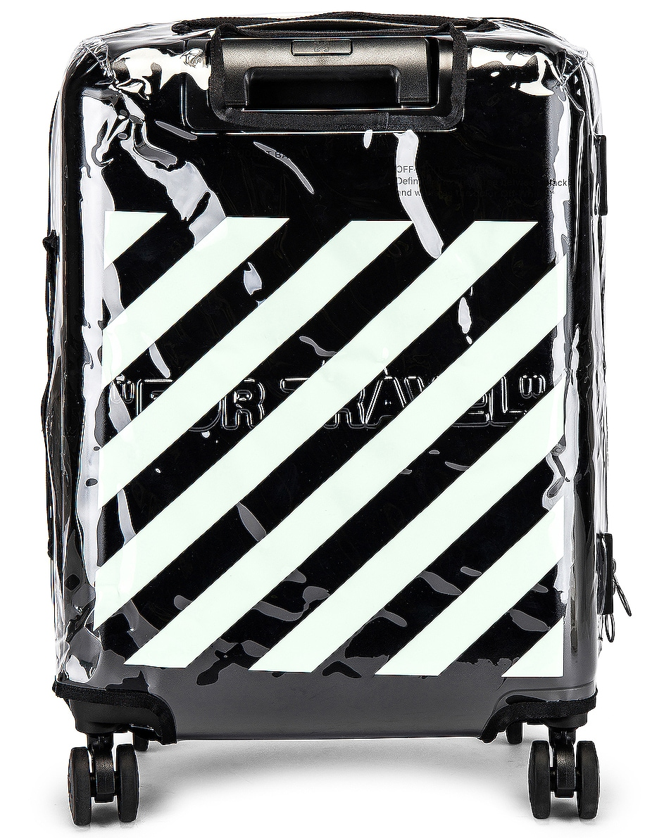 Image 6 of OFF-WHITE Arrow Trolley Luggage in Black