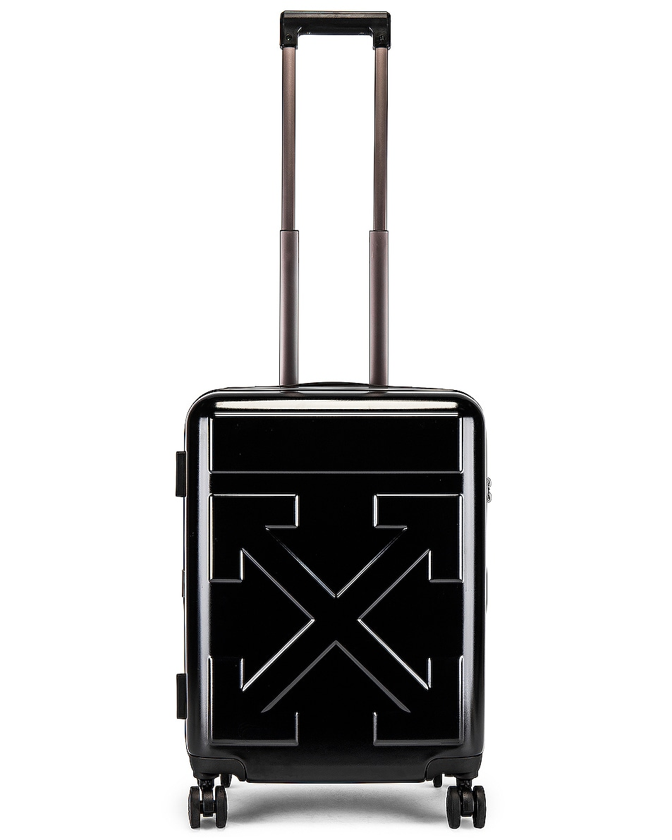 Image 8 of OFF-WHITE Arrow Trolley Luggage in Black